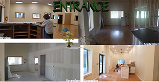 """Forgotten Coast Animal Hospital"" - We are converting, what use to be the ""Wilderness Way"" in Wakulla, in to a new Vet clinic called ""Forgotten Coast Animal Hospital."" The design process started earlier this year (2020) and now the construction is almost done!   We redesigned the interior and exterior of the existing building, creating construction documents. We then get all the correct permitting. Once construction starts, we monitor the work and are the ""go betweens"" for the contractors and the client. The building consists of a waiting room, four exam rooms, four kennel areas, an office, pharmacy, lab, treatment area, x-ray room, surgery room, laundry and break room at a total of 2,871 S.F.  We are now in the final days of construction."